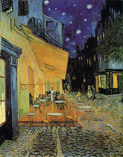analysis of van gogh s night cafe Analysis of the night cafe - vincent van gogh - a free article by elizabeth harding.