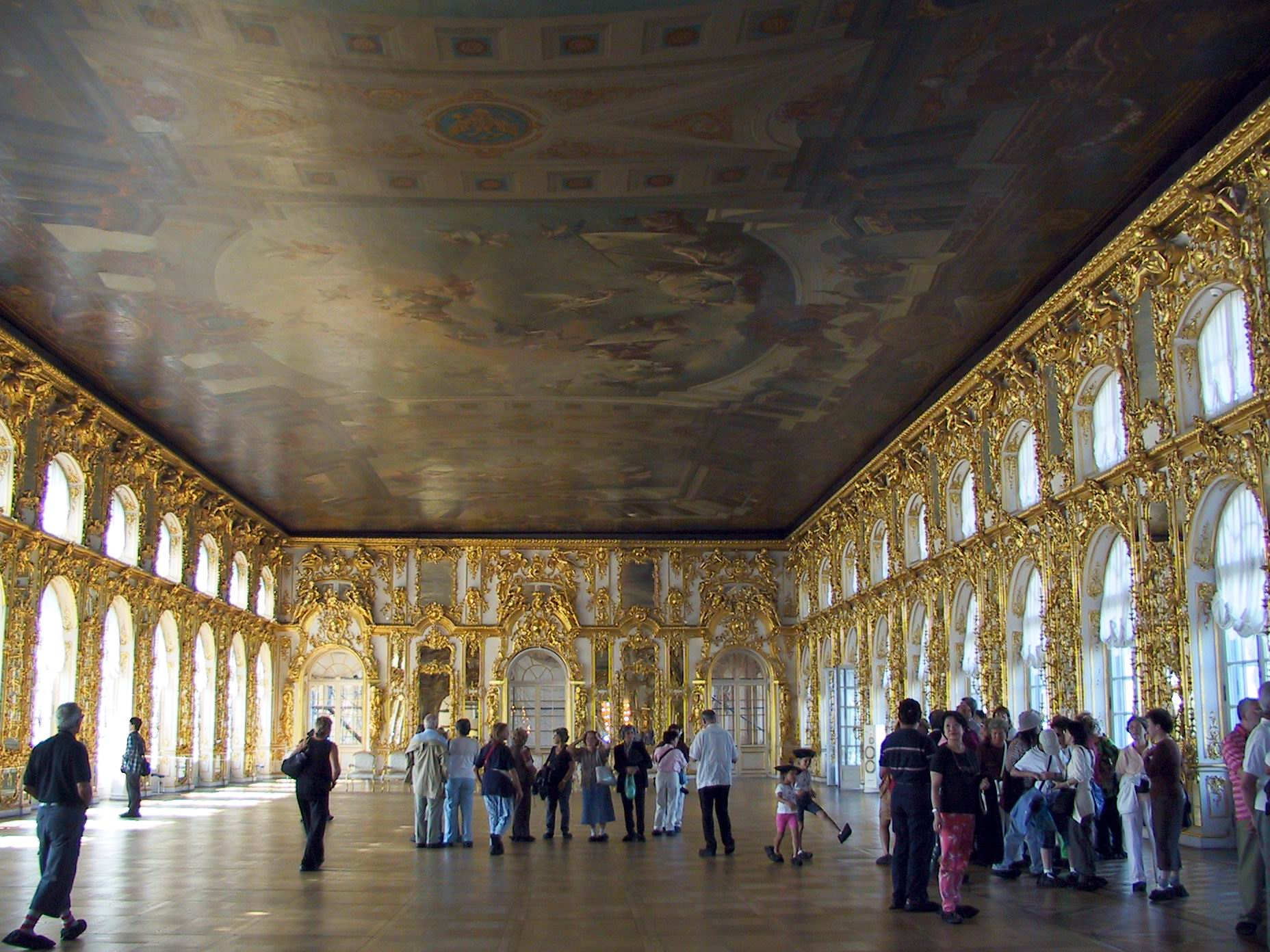 b503 ball room of catherine palace st petersburg