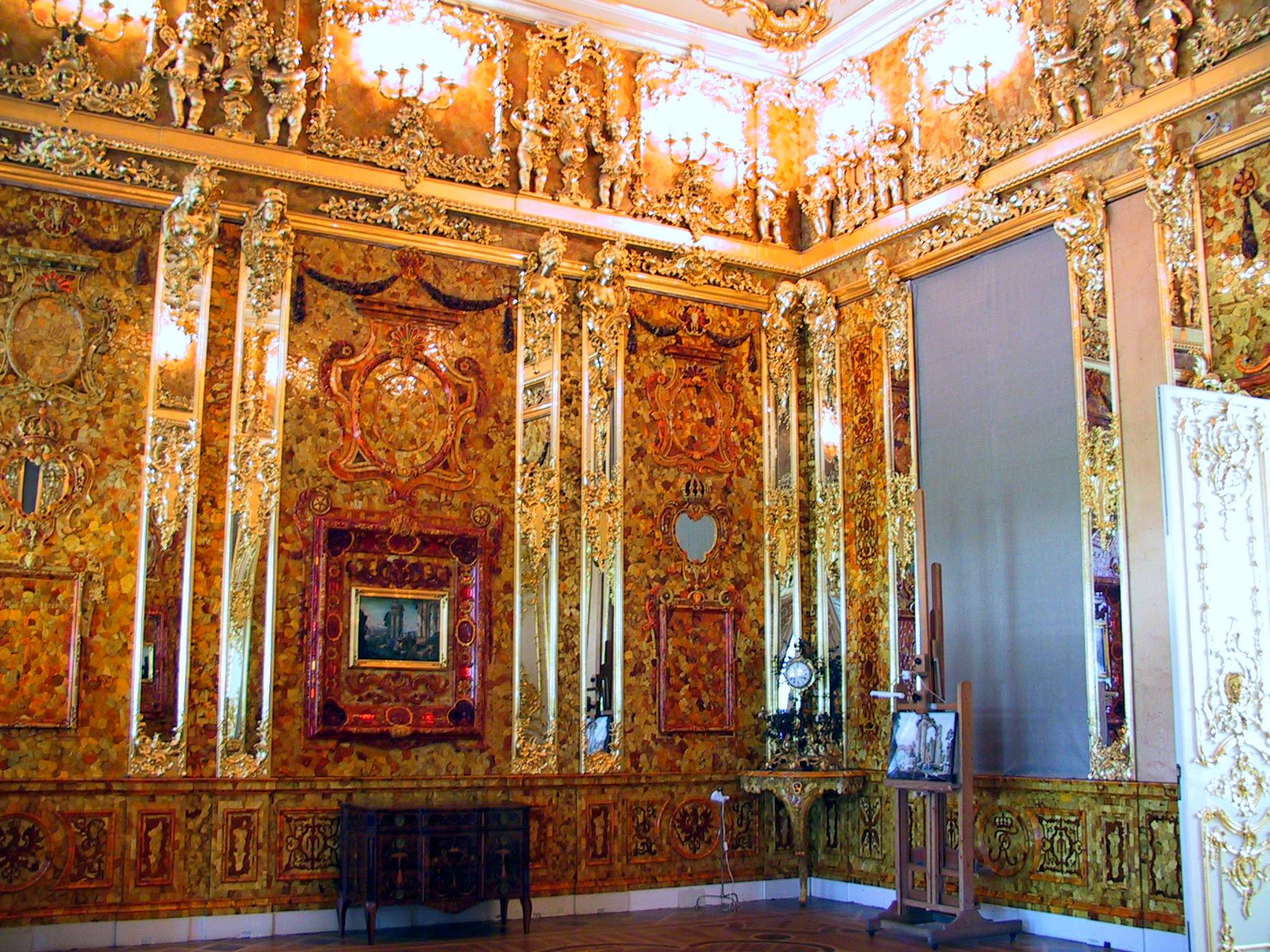B5 05 Amber Roomof Catherine Palace St Petersburg